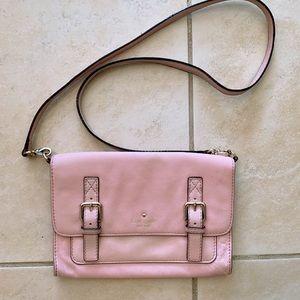Kate Spade Allen Street Pink leather crossbody